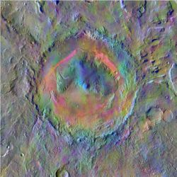 Gale crater, Mars