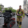 Firefighters Had Secret Weapon When Notre Dame Caught Fire: A Robot Named 'Colossus'