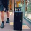CM­ Researcher Designs Suitcase, App to Help the Blind at Airports