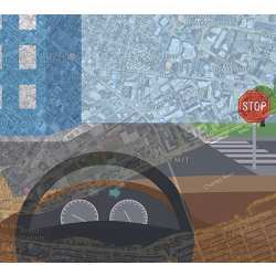The MIT system enables driverless cars to check a simple map and use visual data to follow routes in new, complex environments.