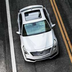 Cadillac's CT6 sedan, the only model by the automaker currently featuring Super Cruise.