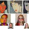 About Faces: Geometric Style of Portrait Artwork