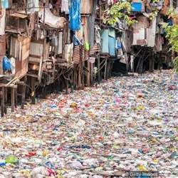 Many of the poorest communities are most affected by plastic waste.