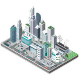 smart city, illustration