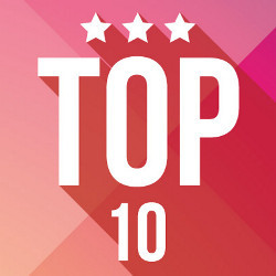 Top 10 with stars