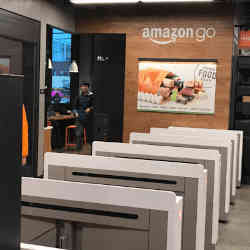 Amazon Go stores in the U.S. use cashierless technology.