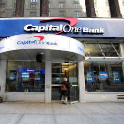 A Capital One branch.