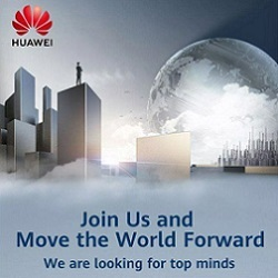 Huawei recruitment ad