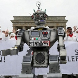 'Stop Killer Robots' demonstration