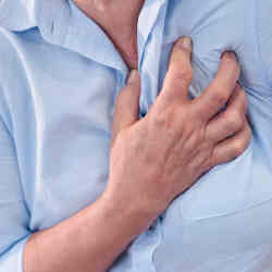 Factors such as inflammation, scarring, and changes in blood vessels supplying blood to the heart point to future heart attacks.