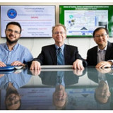 Virginia Tech researchers Walid Saad, Jeffrey Reed, and Thomas Hou