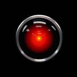 HAL 9000, the wayward artificial intelligence of 2001: A Space Odyssey.