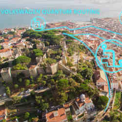 Volkswagen's Lisbon test is timed to coincide with the city's Web Summit technology conference.