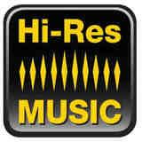The Hi-Res Music logo.