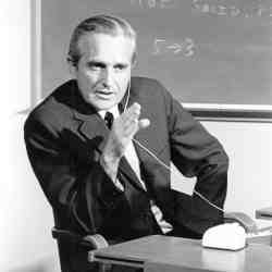 To Engelbart, his work was never about the technology itself, but about helping people work together to solve the world's biggest problems.