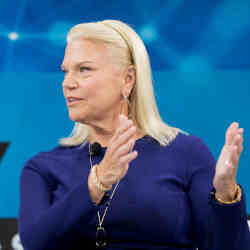 Rometty became chief executive of IBM in 2012.