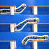 Reconfigurable Robot Can Climb Up Its Own Track