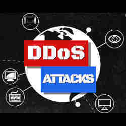 Distributed denial of service attacks take place all over the world.