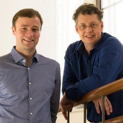 UW professors Jevin West and Carl Bergstrom