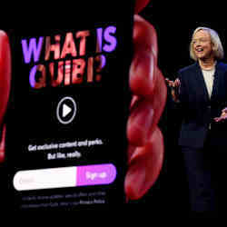 Meg Whitman, the chief executive of Quibi.