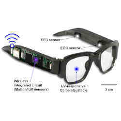 Multifunction E-Glasses Track the Brain, Eyes, and More