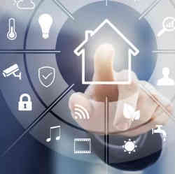 Controlling smart home devices.