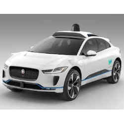 Waymo's fully self-driving Jaguar I-PACE electric SUV.