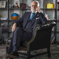 Google chief Internet evangelist Vint Cerf.