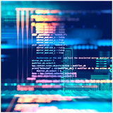 programming code, abstract illustration