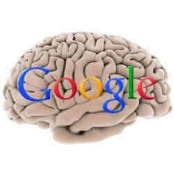 A representation of Google Brain.