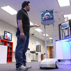 Suitable Technologies' telepresence robot