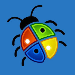 bug with Microsoft Windows colors, illustration