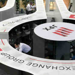 Tokyo Stock Exchange operator Japan Exchange Group scrambled to deal with a technical malfunction.