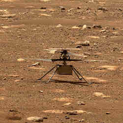 NASA's Ingenuity Helicopter Makes Historic First Flight on Mars