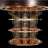 The inner workings of a quantum computer.